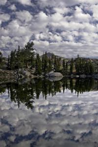 """""""Cloud Mirror""""  Photo by Susan Harris"""