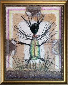 """Prairie Garden Companion""   Mixed media by J. Jay West"