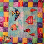 Fish quilt by Pat Dinsman