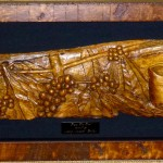 """From the Tree""  woodcarving in Mango by Mary ""Makiki"" Fallon"