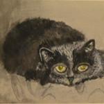 """Beloved Hana""  Watercolor by Marty Allen"