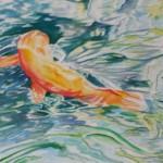 """""""Skipping School""""  Watercolor by Marie Kinchla"""