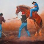"""""""Wild One""""  Oil by Terry Bensch"""