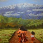 """""""The Journey"""" oil by Terry Bensch"""